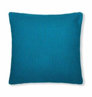 כרית פינוק בגוון כחול טורקיז