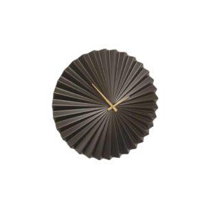 שעון קיר מעוצב דגם גיאני שחור