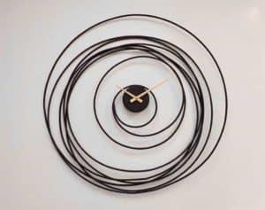שעון קיר דגם ספירלה קוסמית