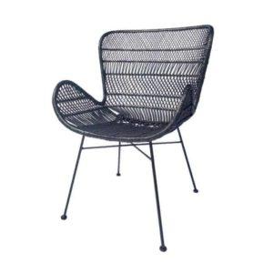 כורסא מעוצבת דגם נטורה שחור