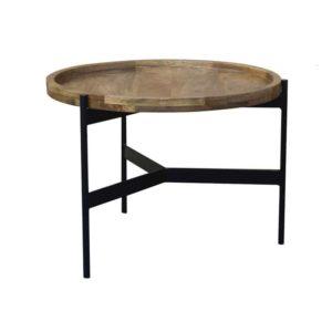 שולחן מעוצב דגם רונה מידות קוטר 60סמ גובה 45סמ