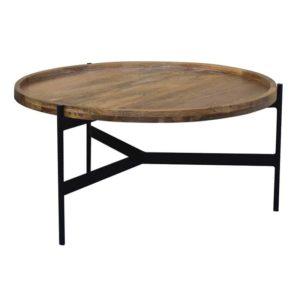 שולחן סלון דגם רונה קוטר 80סמ