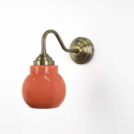 מנורת קיר דגם וורשה אדום