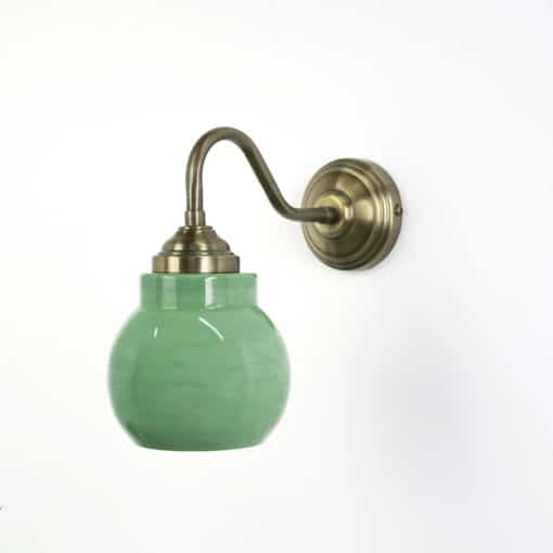 מנורת קיר דגם וורשה ירוק