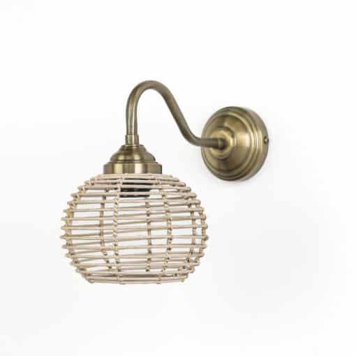 מנורת קיר ראטן דגם 3