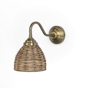 מנורת קיר ראטן דגם 5