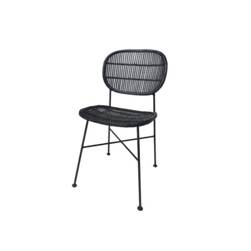 כיסא אוכל דניס שחור